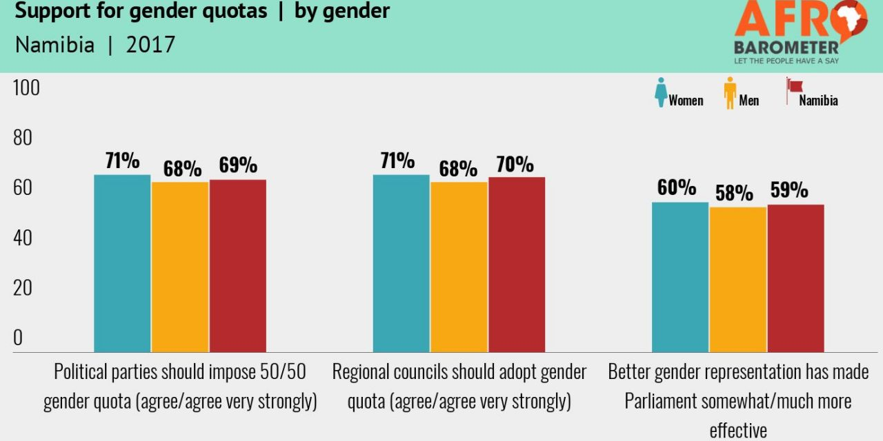 Government doing a good job on gender equality – survey