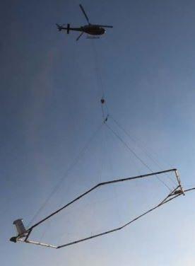 Airborne electromagnetic survey commences at Opuwo