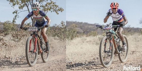 Vorster and Papo are the riders to beat in the MTB Gravel & Dirt series