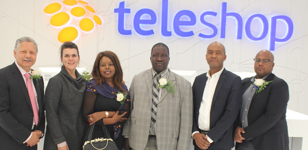 Telecom opens redesigned outlet for improved retail presentation of products and services