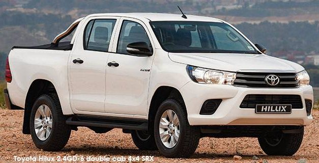 Recharge and drive away with a spanking brand new Toyota Bakkie