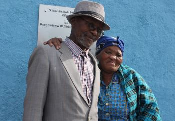 After 30 years in a shack, Berseba couple takes ownership of their own proper house