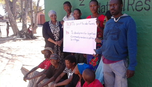San Community wants development for all legal residents in N≠a Jaqna