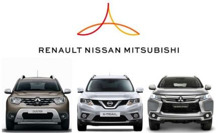 Renault-Nissan-Mitsubishi achieves record first-half sales globally