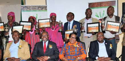 Agronomic Board rewards top Mahangu producers