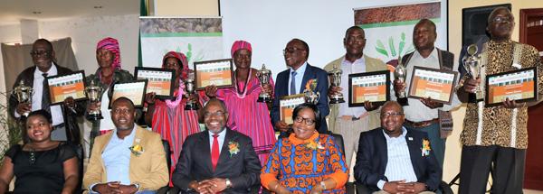Agronomic Board rewards top Mahangu producers