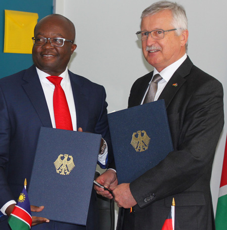 Namibia largest recipient of German development cooperation in Africa per capita – Embassy