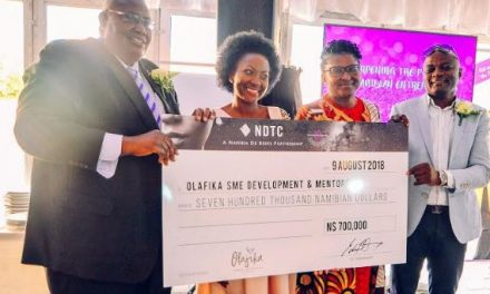 Diamond Trading Company boosts Olafika SME Development programme with N$700,000