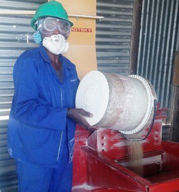 Crushing Mahangu fast becoming an established brand in Oshana Region for female entrepreneur