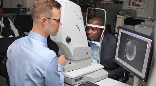 Operations back to normal at government eye clinic – N$100,000 boost received from private sector