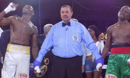 Nakathila shines, takes Malawian boxer to the cleaners in 4th round