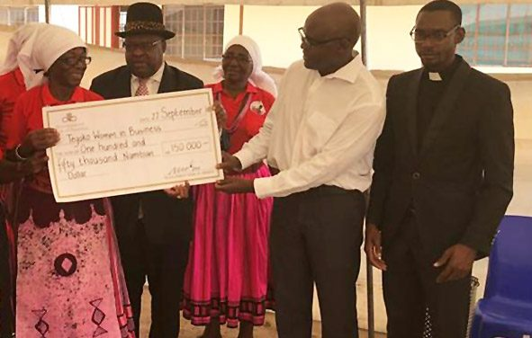 Women in business co-operative's tilapia farming and orchard irrigation gets boost from Development Bank