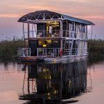 Gondwana floats the ultimate in river luxury on the Kwando near Namushasha