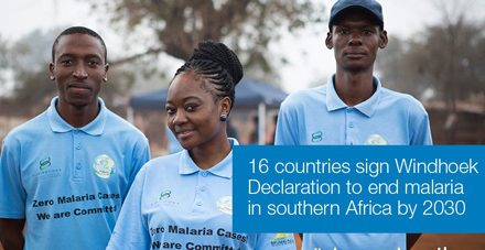 16 countries ink Windhoek Declaration to end malaria in the region by 2030