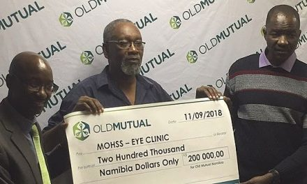 Institutional donation brings Windhoek Central eye clinic back to clear focus