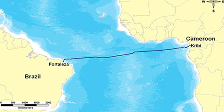 Africa, South America now fully connected via South Atlantic Inter Link