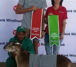 Young Stampriet farmer wins big at Windhoek Agricultural Show