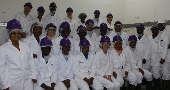 Food and Agriculture Organization delegates visit Meatco