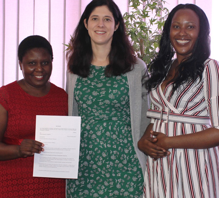 Micro-project fund for girl empowerment gets boost from German Embassy