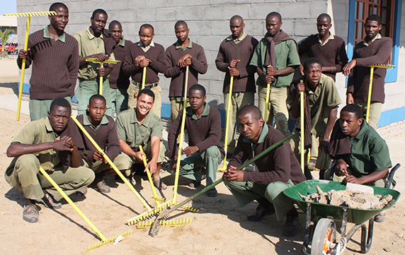 Prisoners get training opportunities to integrate better into society