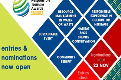 Responsible Tourism Awards Africa 2019 accepting nominations from the public