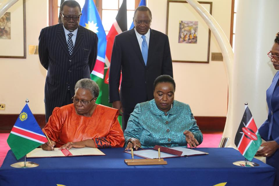 Namibia, Kenya agree to scale up cooperation in range of disciplines