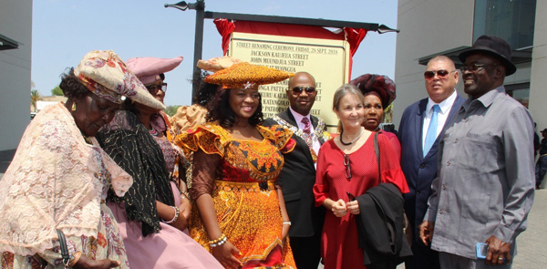 Gallant heroes and heroines honoured with street names in the capital