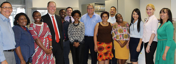 Bank Windhoek, Capricorn Group executives honour customers and frontline staff