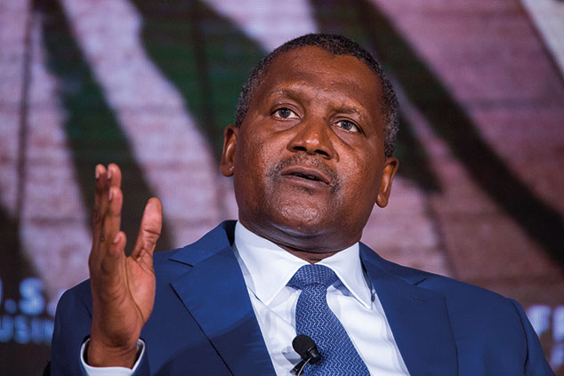 Dangote urges deepening of African economy through free trade
