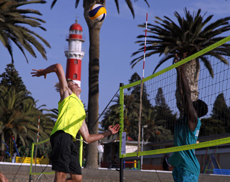 Perfect combination of sun, sea and sand at the penultimate Timeout Beach volleyball series in November
