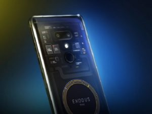 HTC launches blockchain phone Exodus 1, to be sold in cryptocurrency