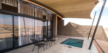 Graceful lodge opens in the Namib Desert