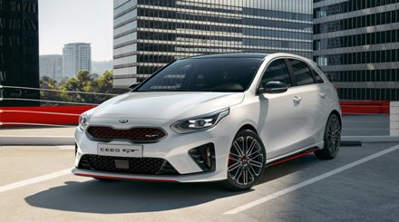KIA unveils new high-performance Ceed GT