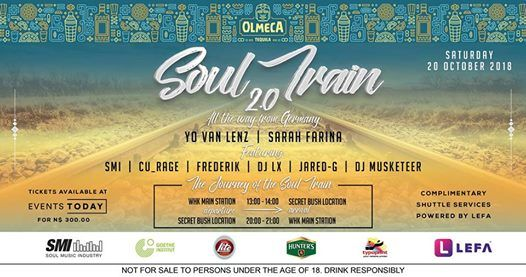 Olmeca Soul Train 2.0 edition set for weekend