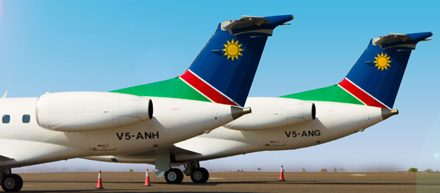 Air Namibia's leased aircraft grounded in Zimbabwe over pending lawsuit