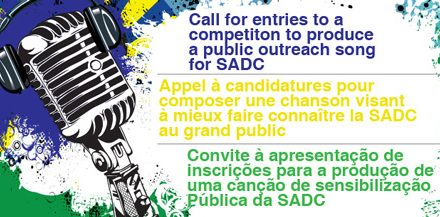 US$4000 up for grabs – SADC Secretariat launch song competition