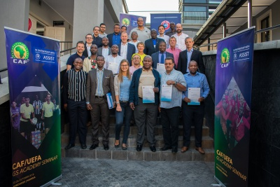 A huge step for the development of African football – CAF GS Academy participants