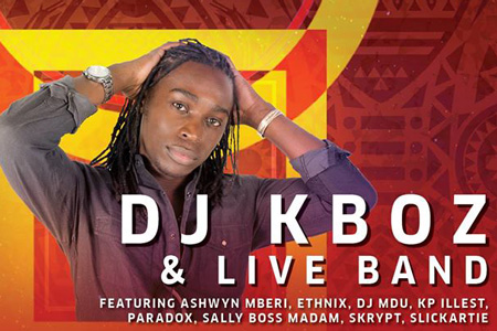 DJ Kboz to make bold return at last Night Under the Stars