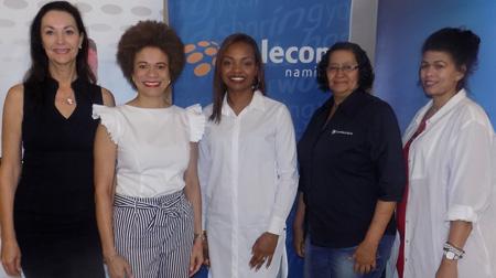 Martins-Hausiku encourages women to run their own race