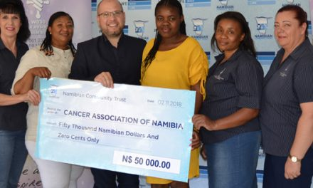 Community Trust donates to Cancer Association's House Acacia Interim Home