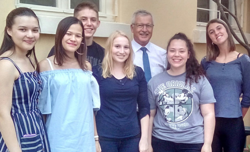 Six German Language learners to convey local culture and lifestyle during student exchange programme