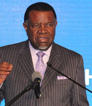 Geingob vows to intensify fight against poverty, corruption and gender violence