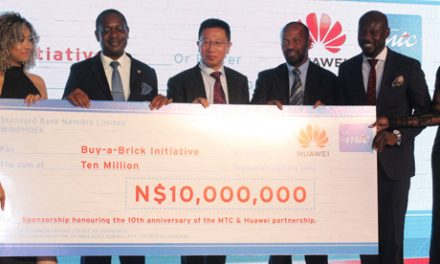 Shack dwellers get lifeline – MTC, Huawei celebrate 10 year partnership in style, donate N$10 million to construct low cost houses