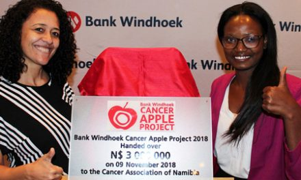 Cancer Apple Project raises N$3 million