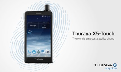 Thuraya's X5-Touch Satellite Smartphone running on an Android operating system to launch in less than a month