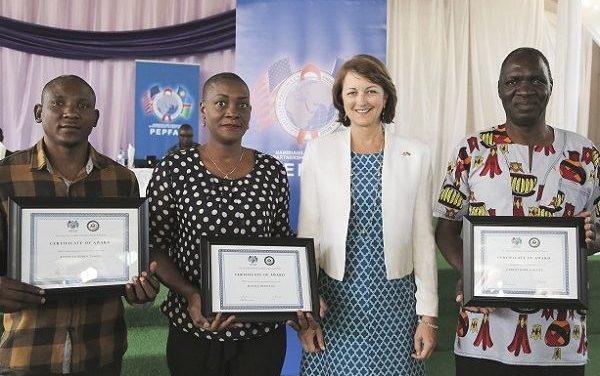 US govt's PEPFAR small grants reach three community organisation in Kavango and Zambezi
