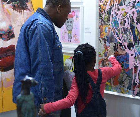 Gallery initiative encourages team work through art