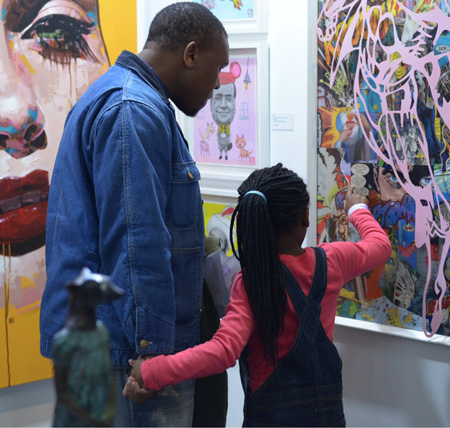 Gallery initiative encourages team work through art