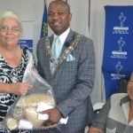 Windhoek's elderly community get an early Christmas from the Mayor's office