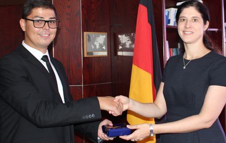 Local diplomat to take part in 43rd Training for International Diplomats in Germany